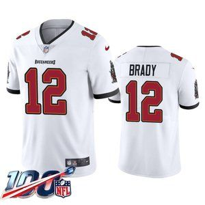 Tampa Bay Buccaneers Tom Brady White Jersey